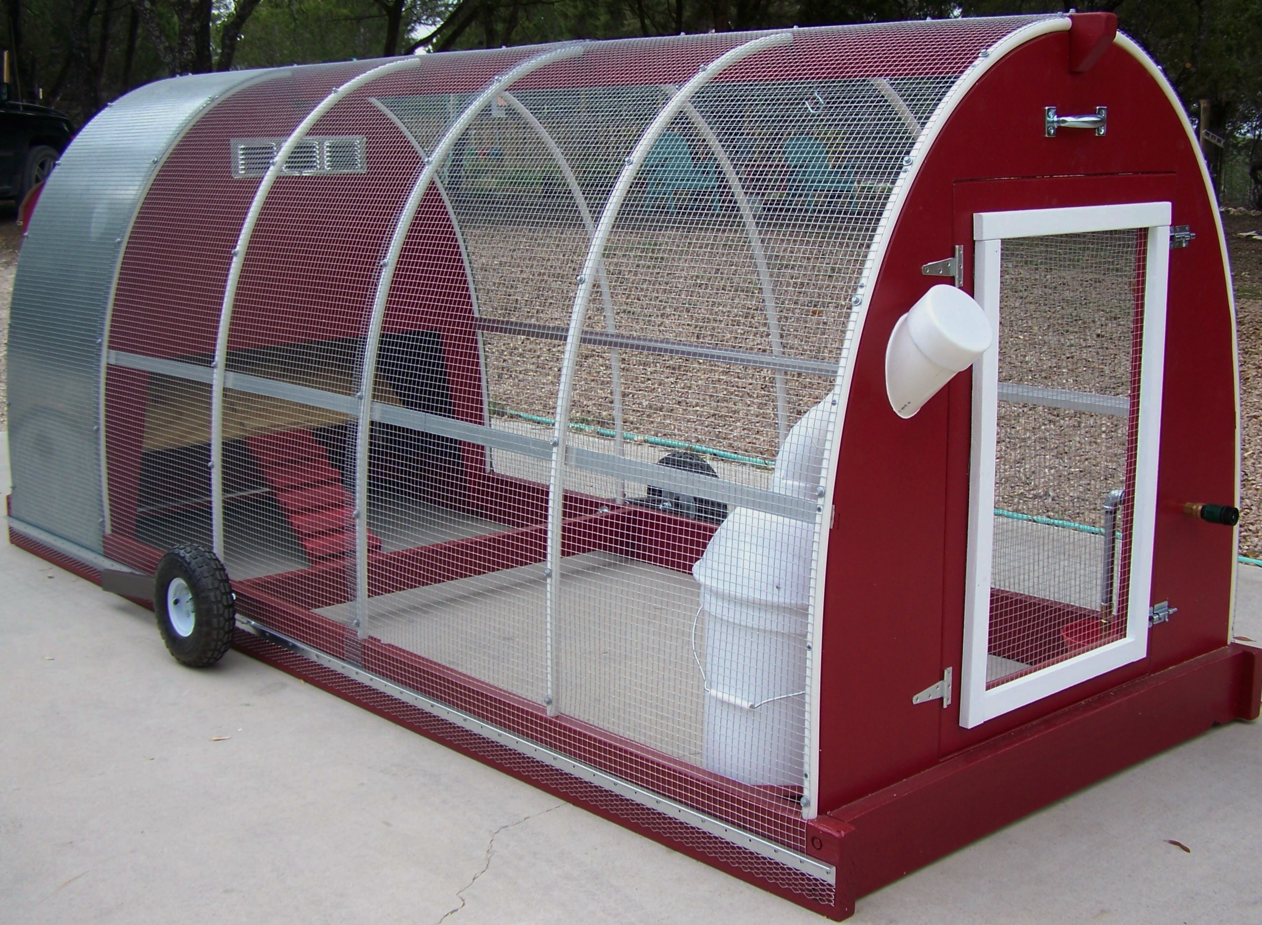 Chcken Coop Mobile Chicken Coop Plans