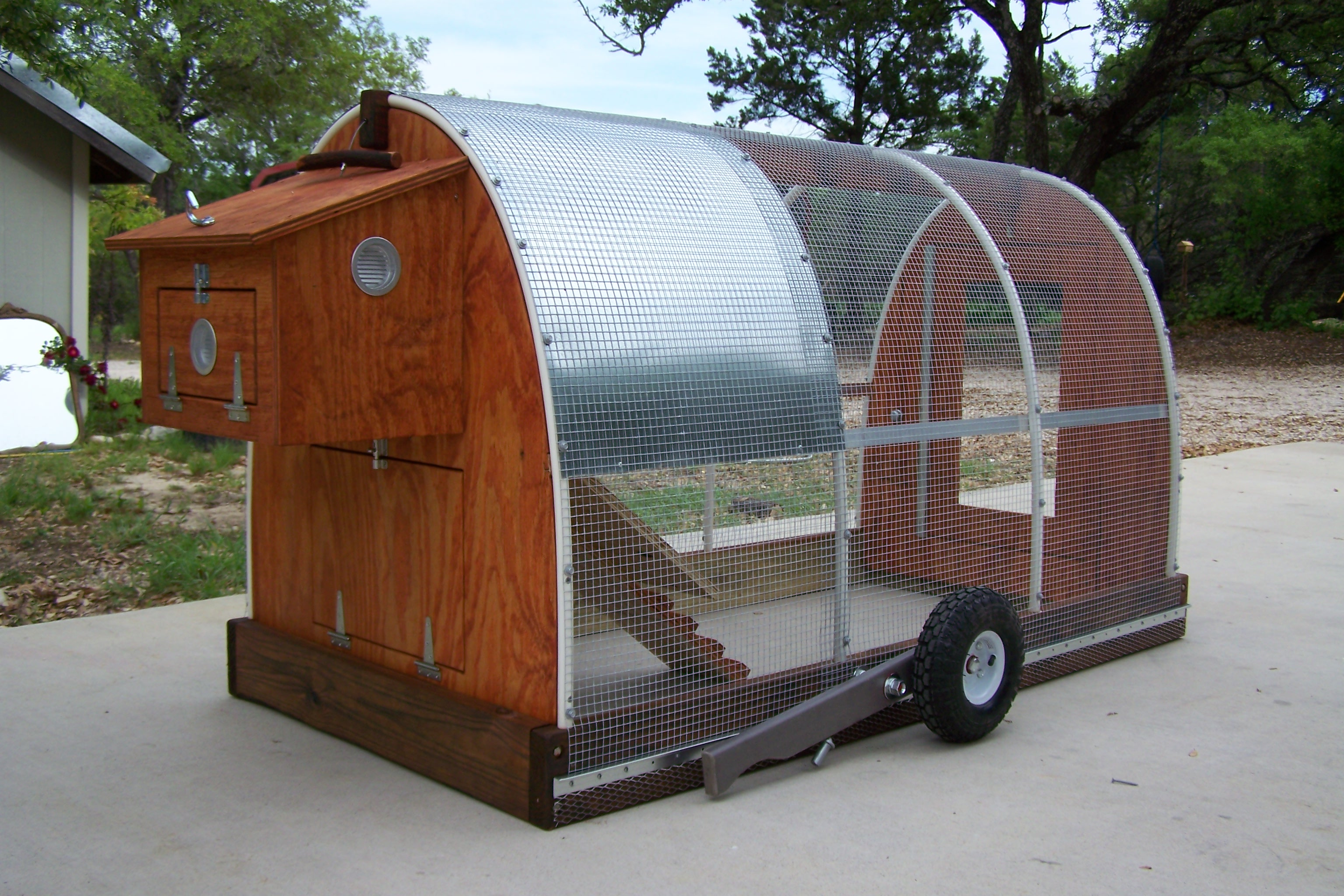Mobile chicken coop plans for Mobile chicken coop plans